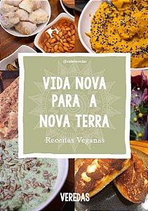 E-book: Vida nova para a terra - Receitas Veganas