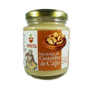 Manteiga de Castanha de Cajú ONVEG 210g
