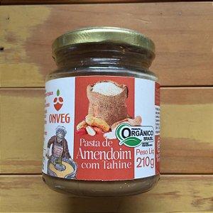 Pasta de Amendoim com Tahine Orgânica ONVEG 210g