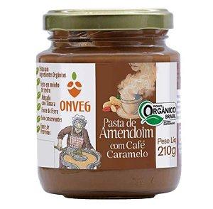 Pasta de Amendoim com Café Caramelo ONVEG 210g