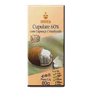 Cupulate 60% com Cupuaçu Cristalizado ONVEG