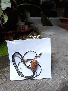 Colar difusor aromático - Tamarindo e Leucena
