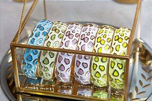 Bracelete Esmaltado Vaca Colors