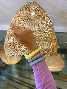 Bracelete Resina Color