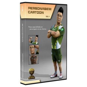 Curso Personagem Cartoon 3D