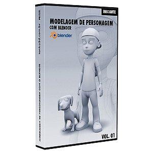 Curso Modelagem 3D de Personagem com Blender
