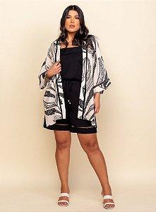 Kimono Detalhes Renda - 30587