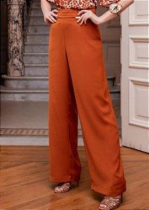 Pantalona  Crepe Fivela Metal - 11097