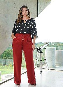 Calça Pantalona Viscose- 11119