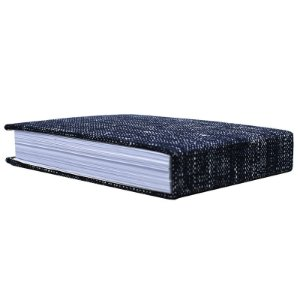 Bloco De Notas Home Office Tessuti Azul 15,5x10,5