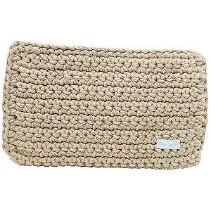 Capa Tablet Tessuti Tech Crochet Caramelo 27x20