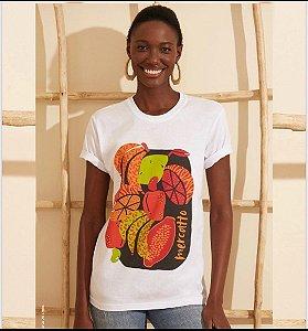 T-shirt malha lisa