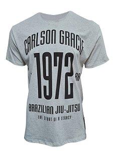 Camiseta Carlson Gracie 1972 - Bege Mescla