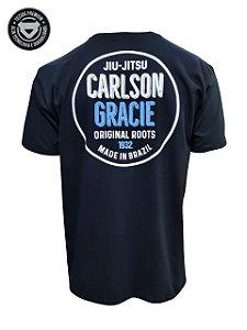 Camiseta Carlson Gracie Made in Brazil - Preto