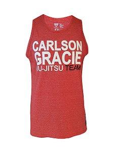 Regata Carlson Gracie Jiu-Jitsu Team Vermelha Mescla