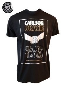 Camiseta Carlson Gracie Hands - Preta