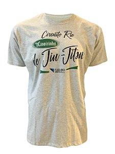 Camiseta Circuito Mineirinho de Jiu-Jitsu Branco Mescla