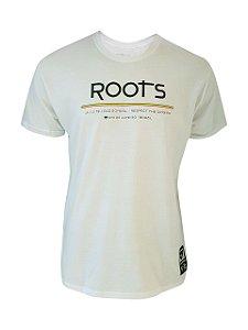 Camiseta Roots Branca