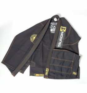 Kimono Tauron Premium - Preto/Amarelo
