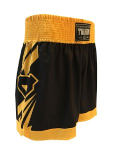 Short Muay Thai Tauron Amarelo