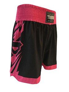 Short Muay Thai Tauron Rosa