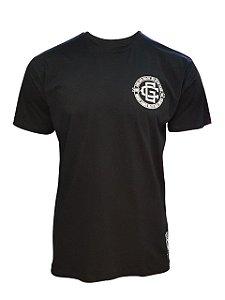 Camiseta Carlson Gracie Monograma - Preto