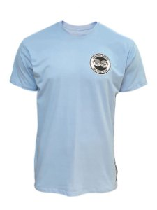 Camiseta Carlson Gracie Logo - Azul Claro
