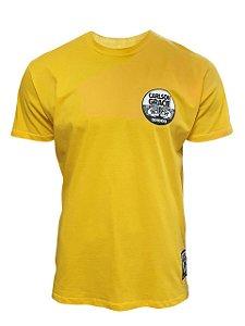 Camiseta Carlson Gracie Company Amarelo