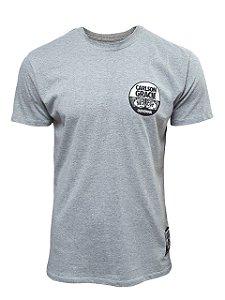 Camiseta Carlson Gracie Company Cinza Mescla