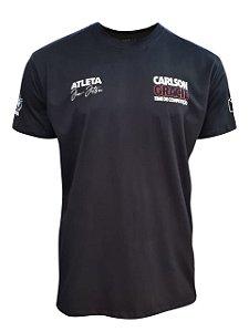 Camiseta Carlson Gracie Time de Competição - Preta