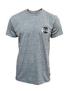 Camiseta Carlson Gracie Logo - Cinza Mescla