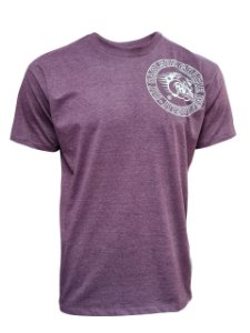 Camiseta Carlson Gracie Stamp - Bordô Mescla