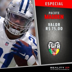 Pacote Madden - NFL - RS