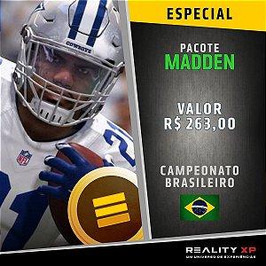 Pacote Madden - NFL - BR