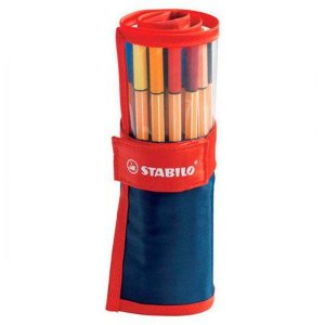 Estojo Roller Set STABILO Point 88 c/25