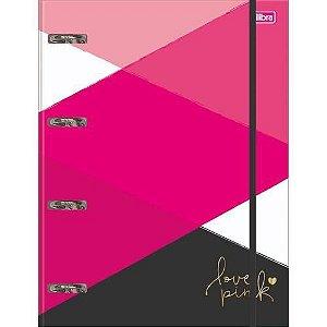 Fichário Love Pink TILIBRA