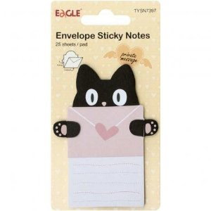 Sticky Notes Envelope Gato EAGLE