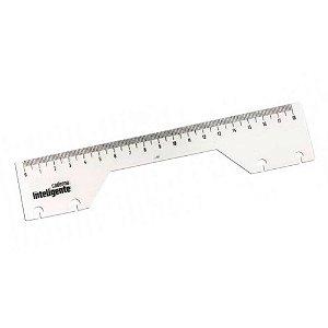 RÉGUA 18cm para CADERNO INTELIGENTE