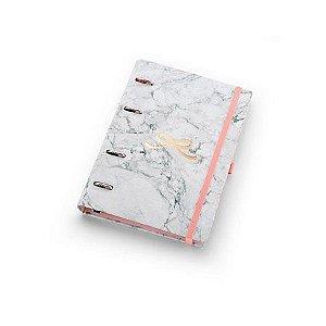 Planner Maxi Pink Stone Mármore ÓTIMA