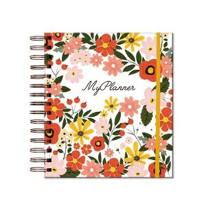 My Planner Permanente Happiness Branco EVERTOP