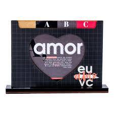 Porta Retrato Dicionário EU & VC Definição de Amor UATT