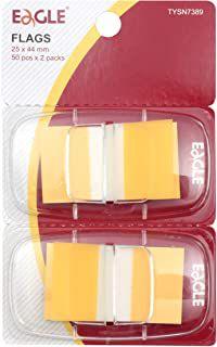 Marcador de Páginas Flags Amarelo - EAGLE