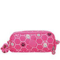 Estojo KIPLING Gitroy Pink Dog Tile