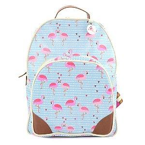 Mochila de Couro Flamingo MODD