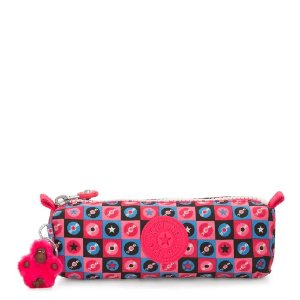 Estojo KIPLING Freedom Disc Tile Rosa