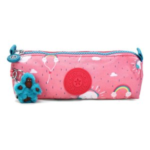 Estojo KIPLING Freedom Monkey Sound Rosa