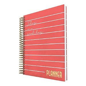 Planner Permanente Vermelho DAC