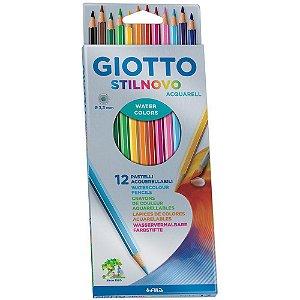 Lápis de cor GIOTTO Stilnovo Aquarelável 12cores