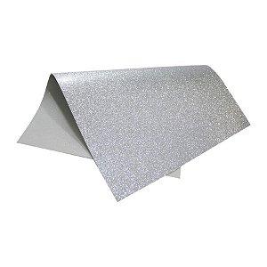 EVA c/Glitter Prata 40x60cm VMP