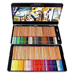 Estojo Lápis de Cor ACRILEX Fine Art 72 Cores
